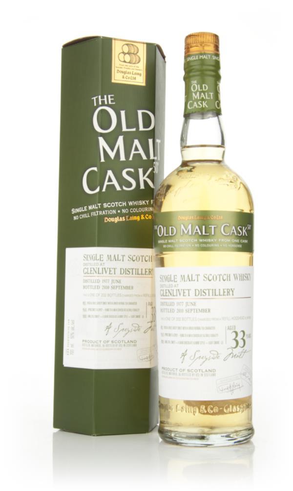 Glenlivet 33 Year Old 1977 - Old Malt Cask (Douglas Laing) Single Malt Whisky
