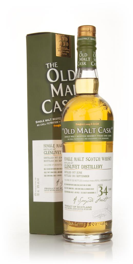 Glenlivet 34 Year Old 1977 - Old Malt Cask (Douglas Laing) Single Malt Whisky