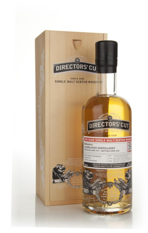 Glenlivet 35 Year Old 1977 - Directors Cut (Douglas Laing) Single Malt Whisky
