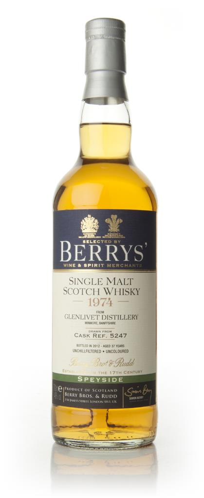 Glenlivet 37 Year Old 1974 - Berry Brothers and Rudd Single Malt Whisky