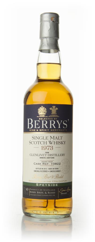 Glenlivet 38 Year Old 1973 - Berry Brothers and Rudd Single Malt Whisky
