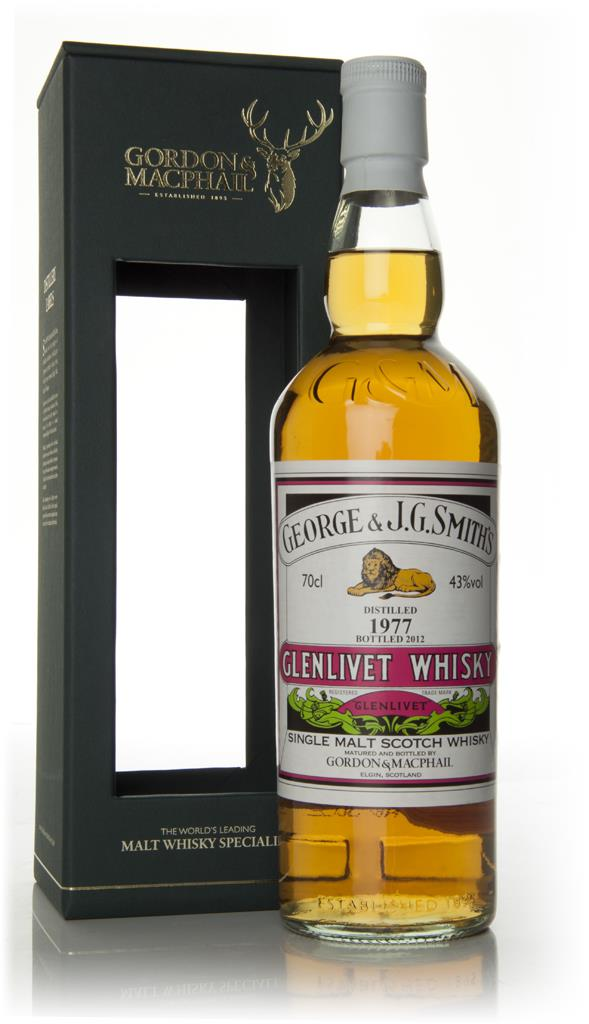 Smiths Glenlivet 1977 Single Malt Whisky