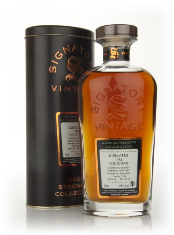 Glenlossie 25 Year Old 1984 - Cask Strength Collection (Signatory) Single Malt Whisky