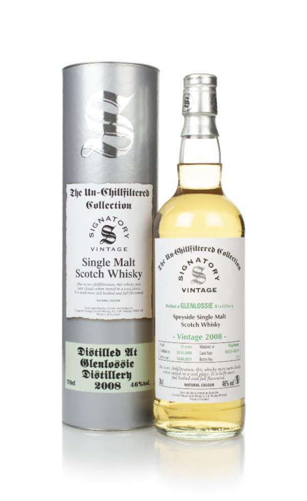 Glenlossie 12 Year Old 2008 (casks 10525 & 10529) - Un-Chillfiltered C Single Malt Whisky