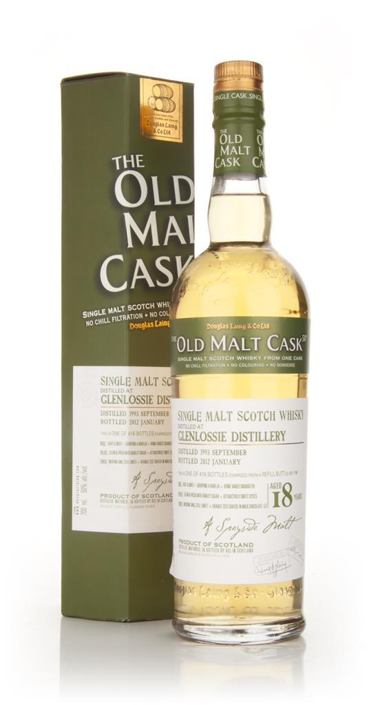 Glenlossie 18 Year Old 1993 - Old Malt Cask (Douglas Laing) Single Malt Whisky
