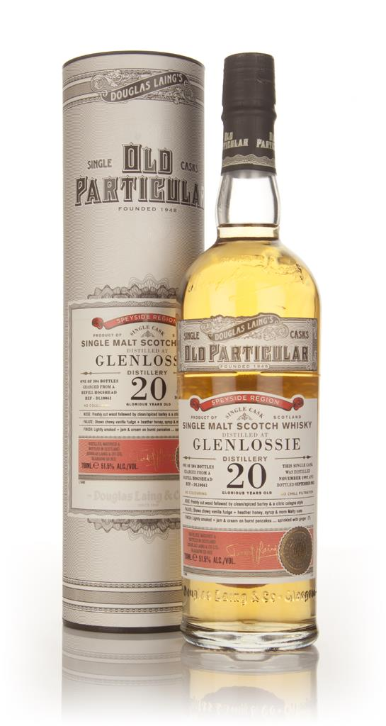 Glenlossie 20 Year Old 1992 (cask 10061) - Old Particular (Douglas Lai Single Malt Whisky