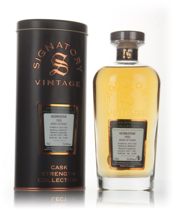 Glenlossie 24 Year Old 1992 (cask 3451 & 3461) - Cask Strength Collect Single Malt Whisky 3cl Sample