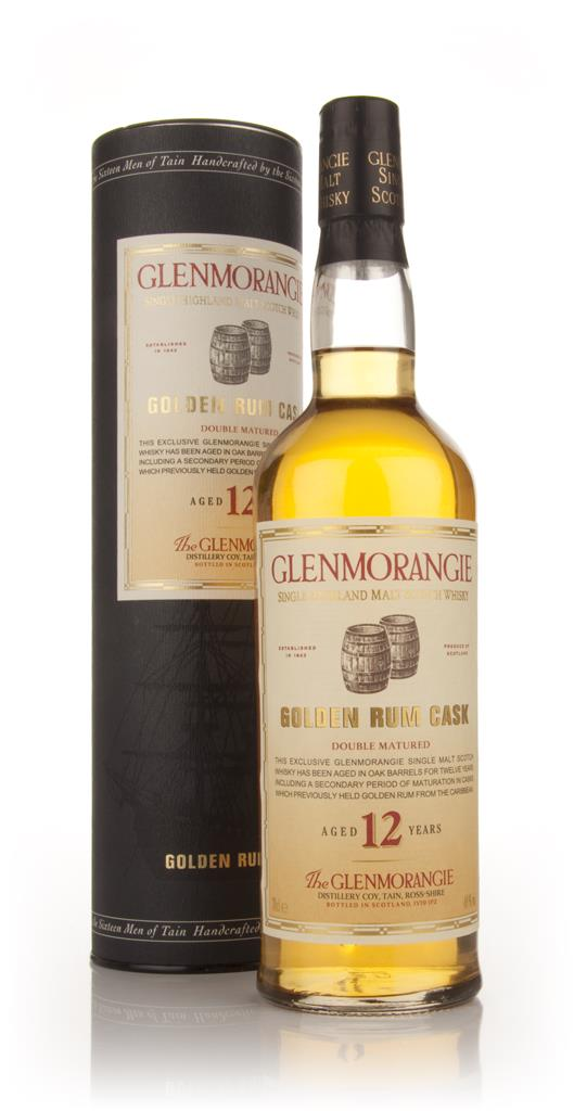 Glenmorangie 12 Year Old Golden Rum Cask Single Malt Whisky