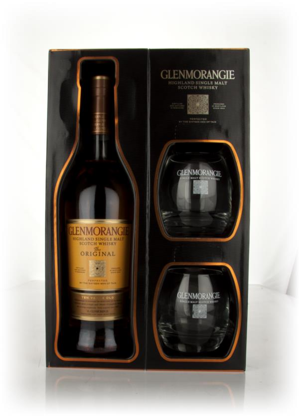 Glenmorangie 10 Year Old Original + Glasses Single Malt Whisky