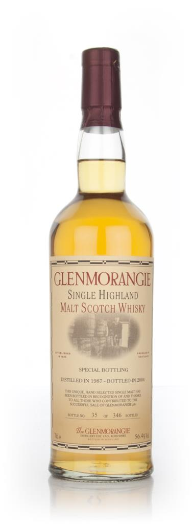 Glenmorangie 1987 Special Bottling Single Malt Whisky