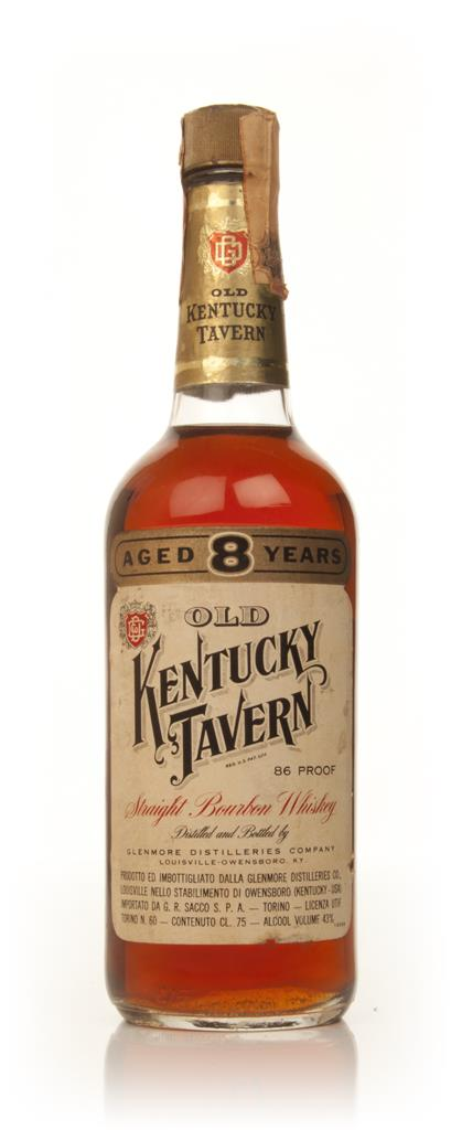 Old Kentucky Tavern 8 Year Old - 1970s Bourbon Whiskey