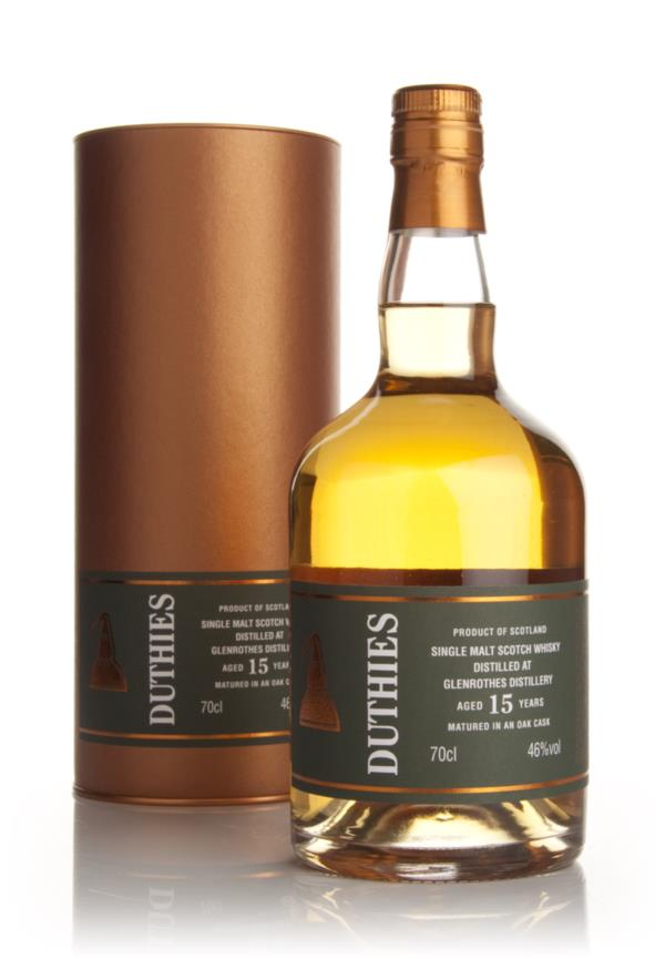 Glenrothes 15 Year Old - Duthies (WM Cadenhead) Single Malt Whisky