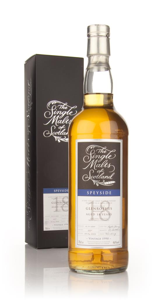 Glenrothes 18 Year Old 1990 - Single Malts of Scotland (Speciality Dri Single Malt Whisky