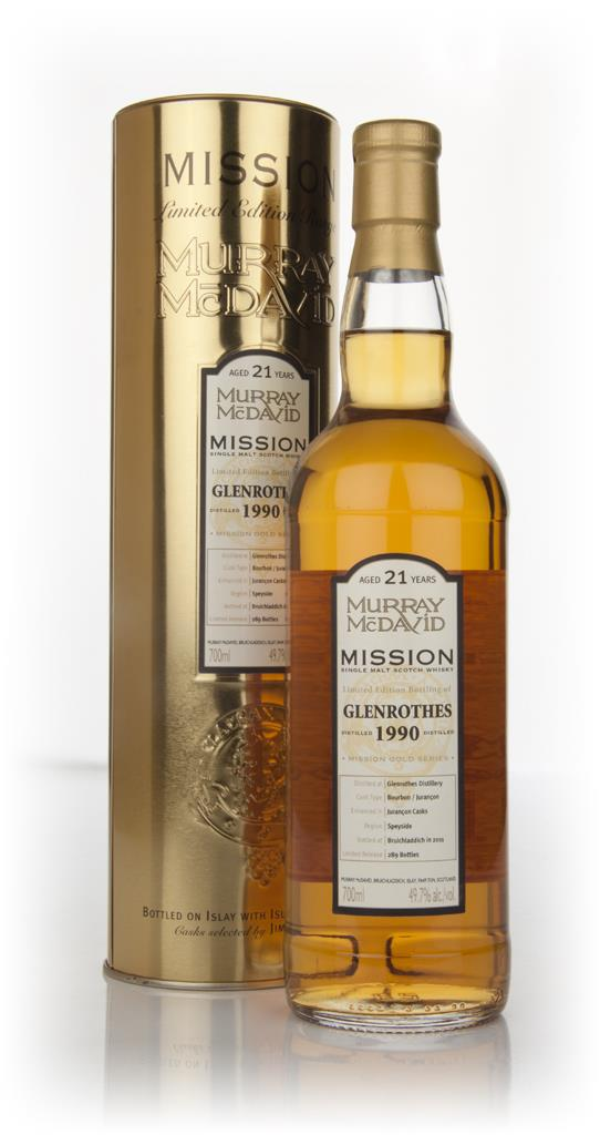Glenrothes 21 Year Old 1990 - Mission (Murray McDavid) Single Malt Whisky