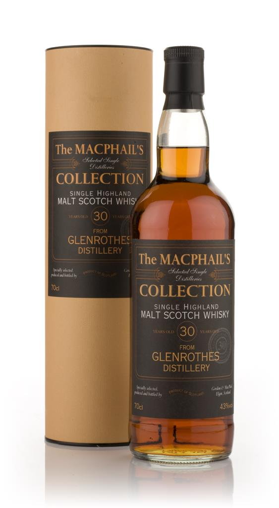 Glenrothes 30 Year Old - The MacPhails Collection (Gordon and MacPhai Single Malt Whisky