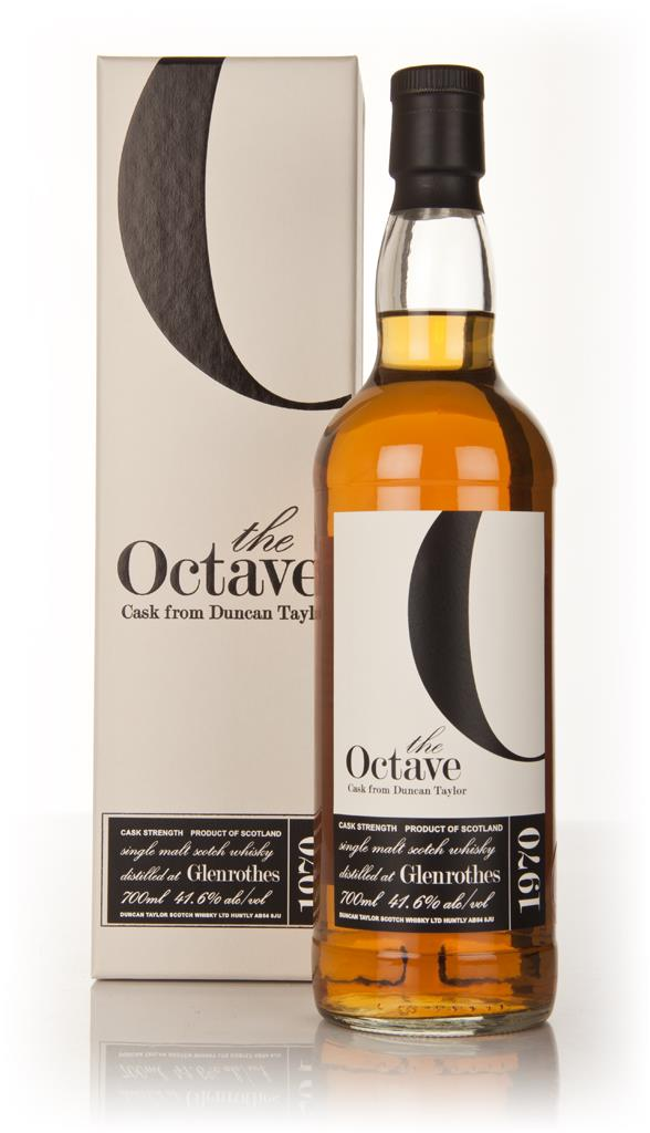 Glenrothes 40 Year Old 1970 - The Octave (Duncan Taylor) 41.6% Single Malt