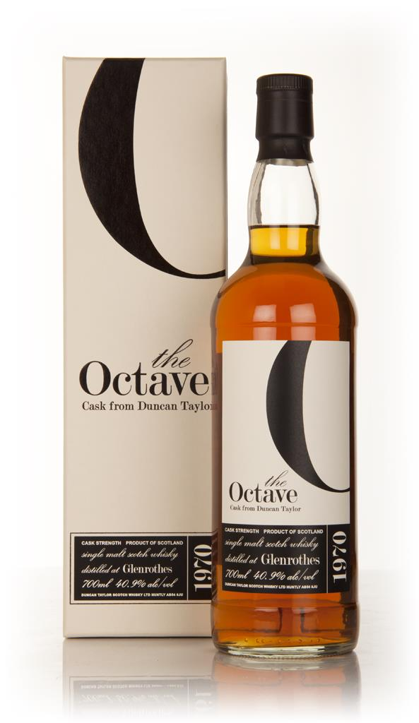 Glenrothes 40 Year Old 1970 - The Octave (Duncan Taylor) Single Malt Whisky