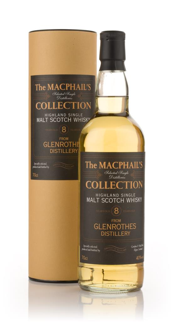 Glenrothes 8 Year Old - The MacPhails Collection (Gordon and MacPhail Single Malt Whisky