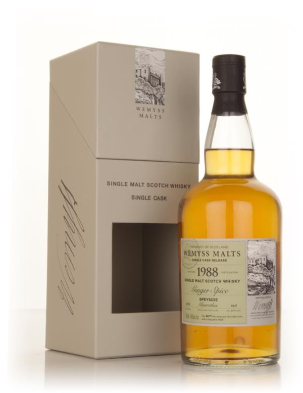 Ginger Spice 1988 - Wemyss Malts (Glenrothes) Single Malt Whisky