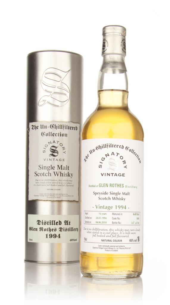 Glenrothes 16 Year Old 1994 - Un-Chillfiltered (Signatory) Single Malt Whisky