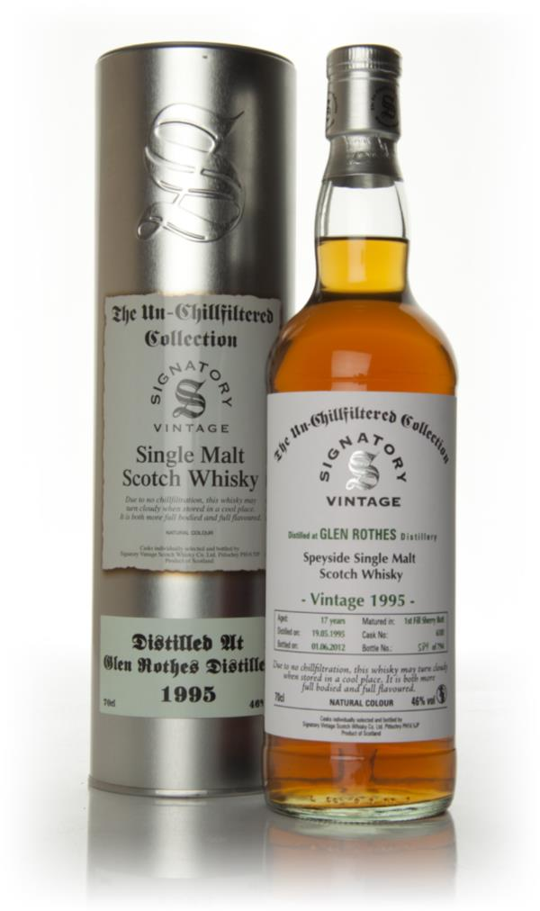 Glenrothes 17 Year Old 1995 - Un-Chillfiltered (Signatory) Single Malt Whisky