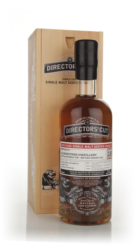 Glenrothes 18 Years Old 1993 - Directors Cut (Douglas Laing) Single Malt Whisky