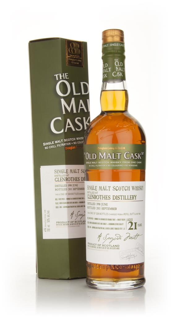 Glenrothes 21 Year Old 1990 - Old Malt Cask (Douglas Laing) Single Malt Whisky