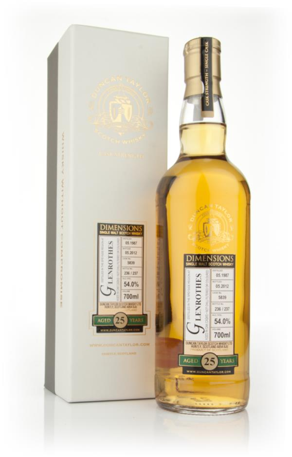 Glenrothes 25 Year Old 1987 - Dimensions (Duncan Taylor) Single Malt Whisky