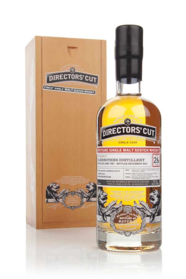 Glenrothes 26 Year Old 1987 (cask 10141) - Directors' Cut (Douglas Lai Single Malt Whisky