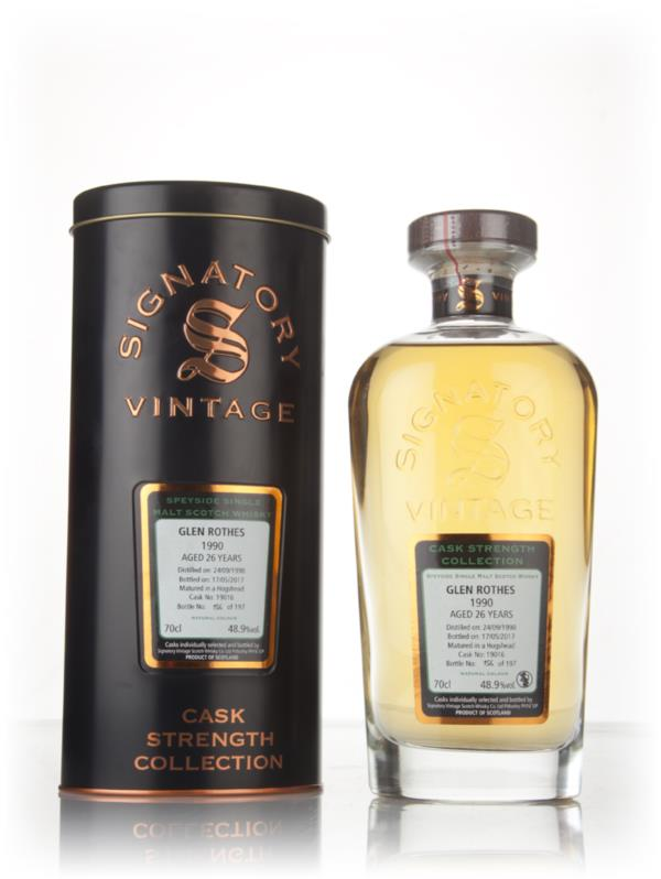 Glenrothes 26 Year Old 1990 (cask 19016) - Cask Strength Collection (S Single Malt Whisky 3cl Sample