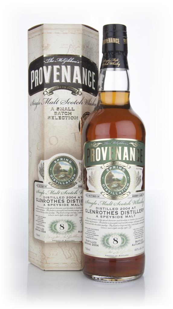 Glenrothes 8 Year Old 2004 - Provenance (Douglas Laing) Single Malt Whisky