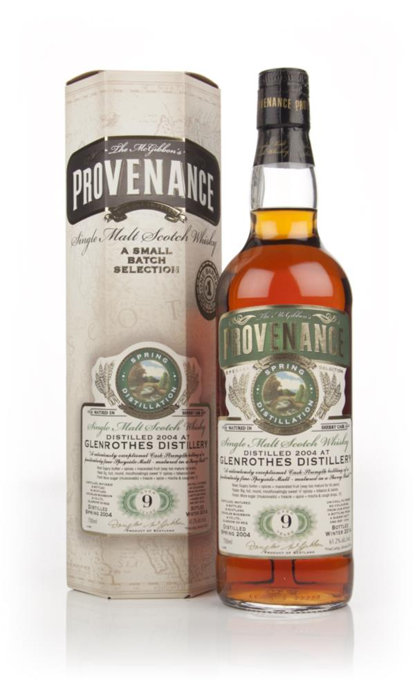Glenrothes 9 Year Old 2004 (cask 10191) - Provenance (Douglas Laing) Single Malt Whisky