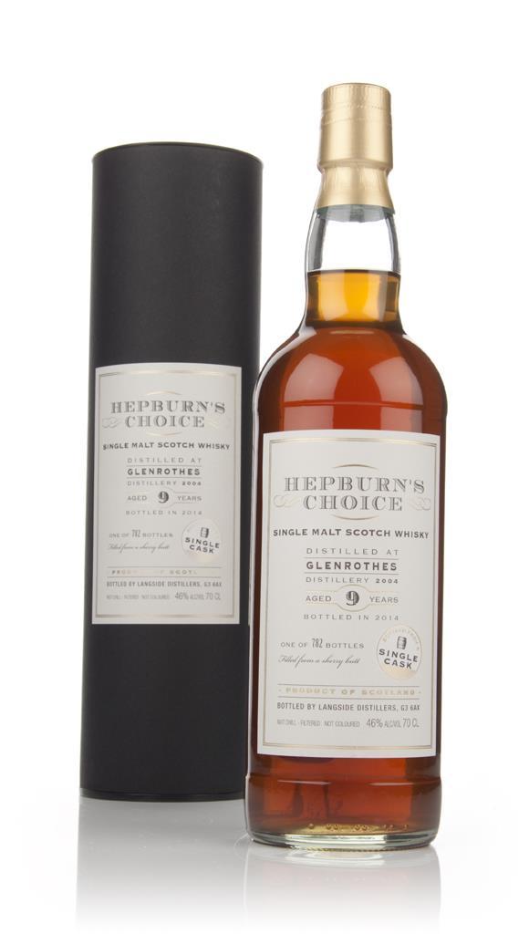 Glenrothes 9 Year Old 2004 - Hepburn's Choice (Langside) Single Malt Whisky