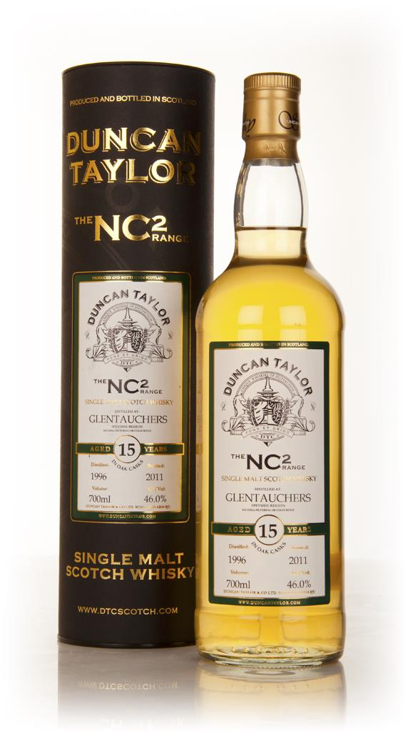 Glentauchers 15 Year Old 1996 - NC2 (Duncan Taylor) Single Malt Whisky