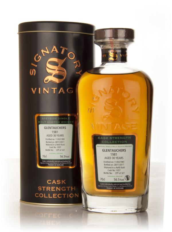 Glentauchers 30 Year Old 1981 Cask 1057 - Cask Strength Collection (Si Single Malt Whisky