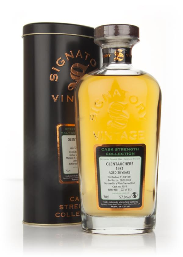 Glentauchers 30 Year Old 1981 - Cask Strength Collection (Signatory) Single Malt Whisky