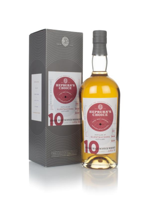 Glentauchers 10 Year Old 2010 - Hepburn's Choice (Langside) Single Malt Whisky