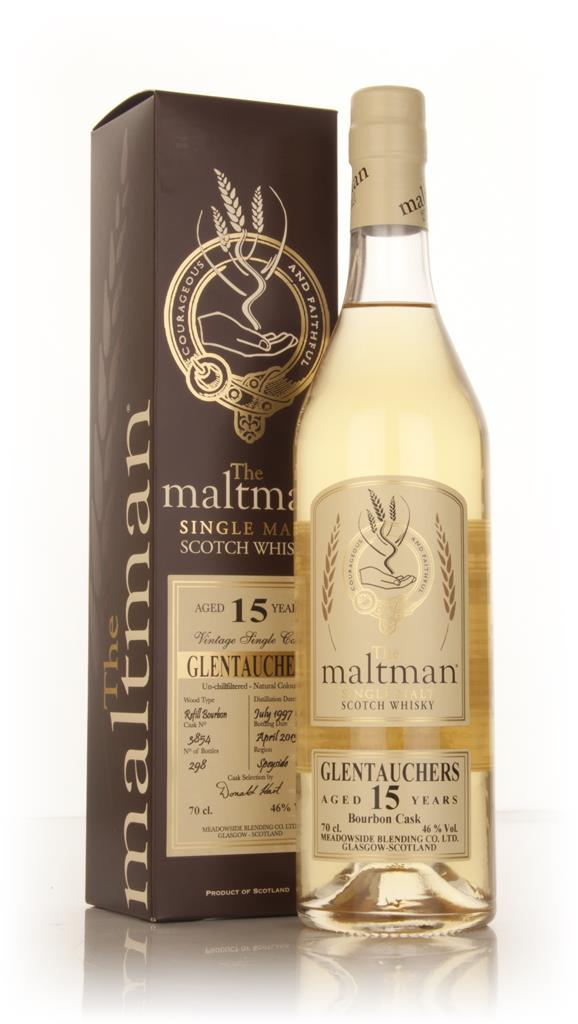 Glentauchers 15 Year Old 1997 (cask 3854) (The Maltman) Single Malt Whisky