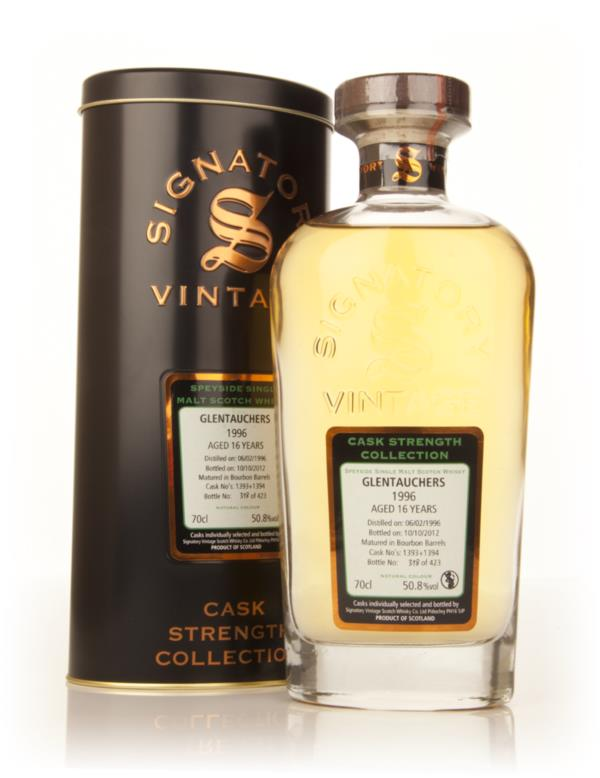 Glentauchers 16 Year Old 1996 (casks 1393+1394) - Cask Strength Collec Single Malt Whisky