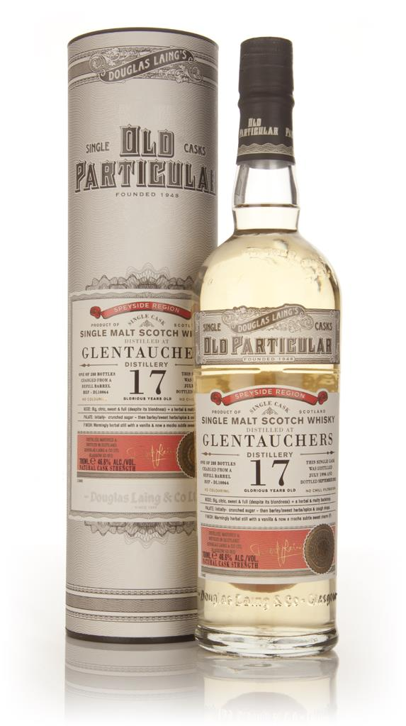 Glentauchers 17 Year Old 1996 (cask 10064) - Old Particular (Douglas L Single Malt Whisky