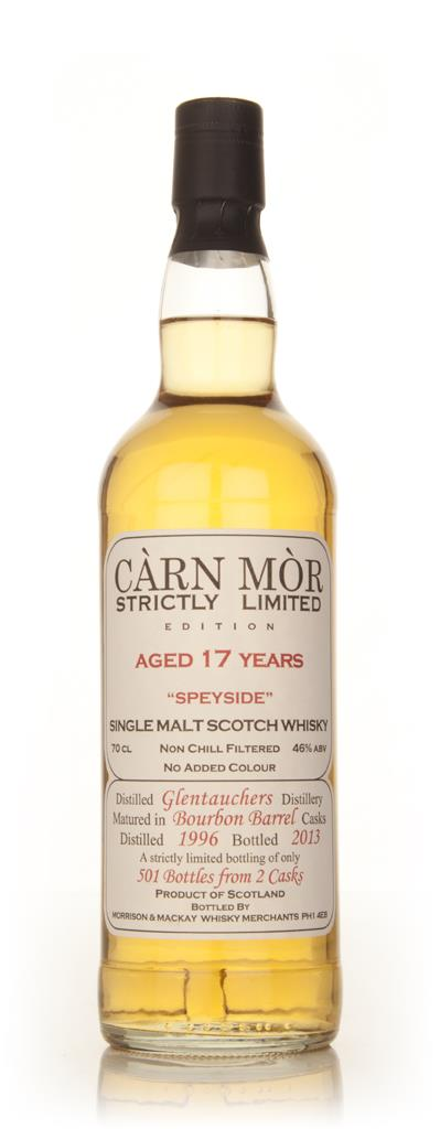 Glentauchers 17 Year Old 1996 -  Strictly Limited (Carn Mor) Single Malt Whisky