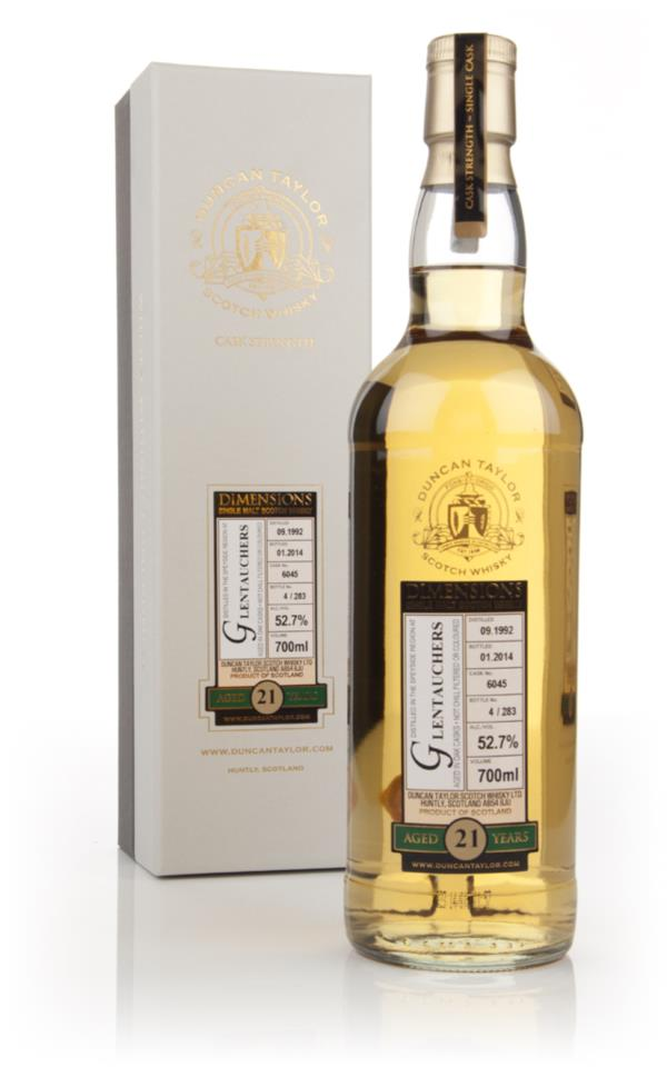 Glentauchers 21 Year Old 1992 (cask 6045) - Dimensions (Duncan Taylor) Single Malt Whisky