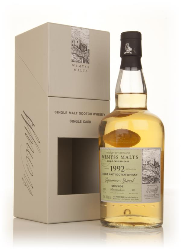 Liquorice Spiral 1992 - Wemyss Malts (Glentauchers) Single Malt Whisky