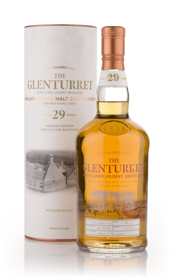 Glenturret 29 Year Old 1977 Single Malt Whisky