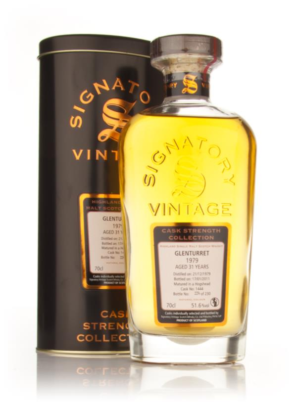 Glenturret 31 Year Old 1979 - Cask Strength Collection (Signatory) Single Malt Whisky