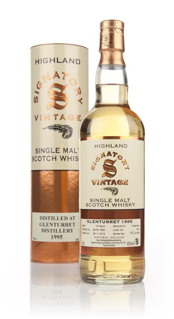 Glenturret 17 Year Old 1995 (cask 552) - (Signatory) Single Malt Whisky
