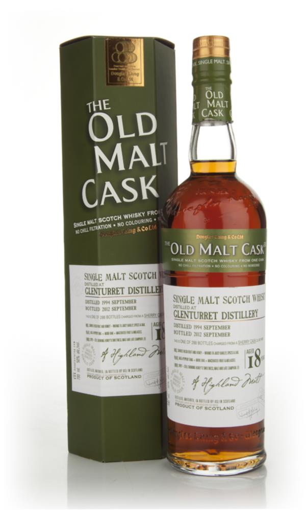 Glenturret 18 Years Old 1994 - The Old Malt Cask (Douglas Laing) Single Malt Whisky
