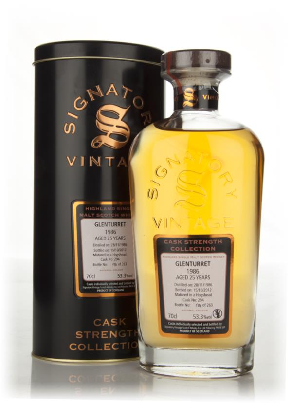 Glenturret 25 Year Old 1986 Cask 294 - Cask Strength Collection (Signa Single Malt Whisky