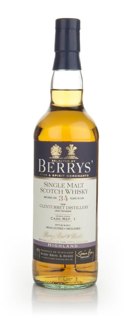 Glenturret 34 Year Old - Cask 1 (Berry Bros & Rudd) Single Malt Whisky