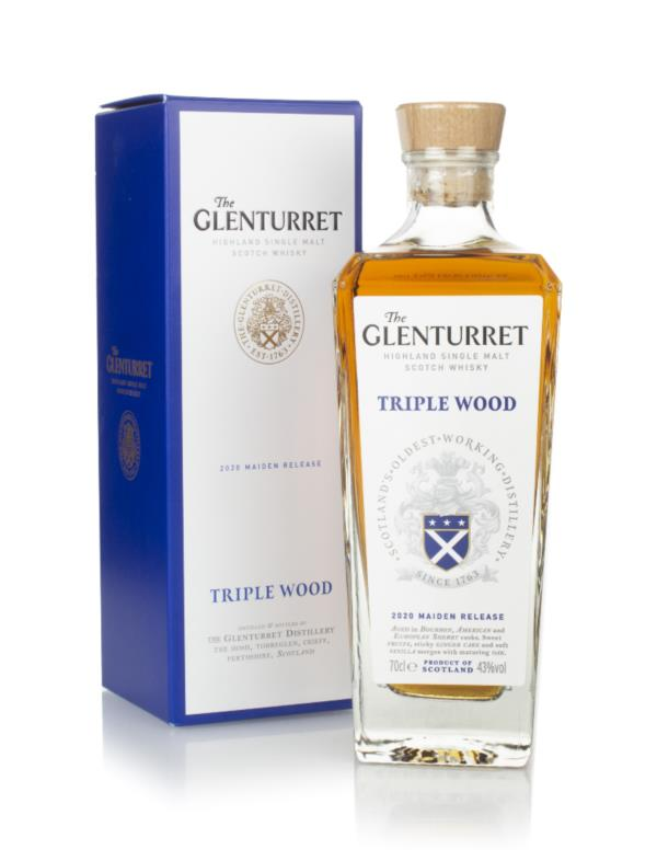 The Glenturret Triple Wood (2020 Maiden Release) Single Malt Whisky